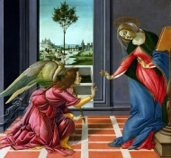 l'annonciation - Botticelli
